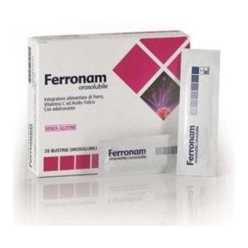 Ferronam wysoko przyswajalne żelazo, kwas foliowy i witamina C