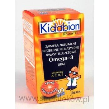 Kidabion Omega-3 Pomarańcza kapsułki poprawiające pamięć i koncentrację