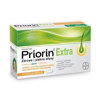 Priorin Extra kapsułki zapobiegające wypadaniu włosów i stymulujące ich porost