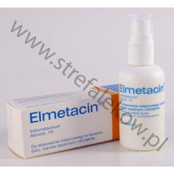 Elmetacin aerozol - bóle stawów,stany zapalne i obrzęki