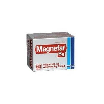 Magnefar B6 magnez z witaminą B6
