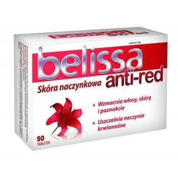 Belissa anti-red dla cery naczynkowej wzmocnienie włosów skóry i paznokci