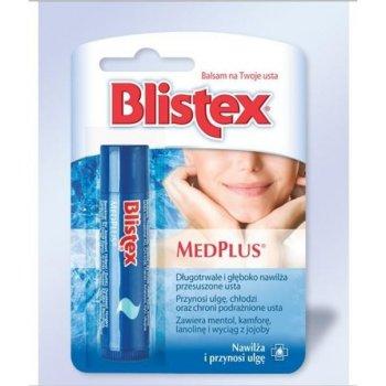 Blistex MedPlus pomadka do ust nawilża i chroni podrażnione usta