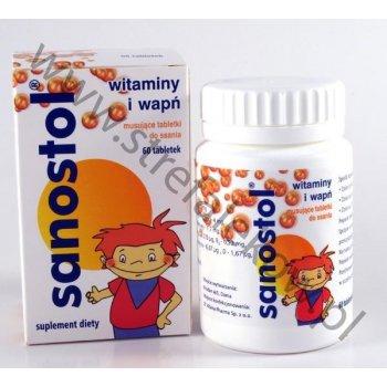 Sanostol musujące tabletki do ssania 60 tabletek
