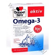 Doppelherz Aktiv Omega-3 z witaminą E naturalną