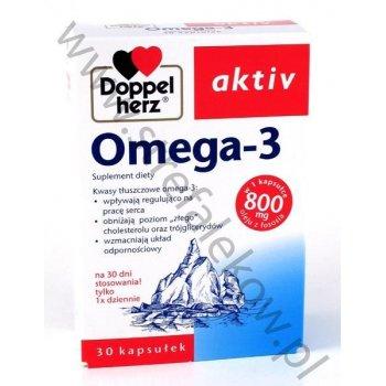 Doppelherz Aktiv Omega-3 z witaminą E