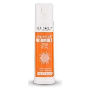 Sunshine Mist Witamina D3 1000 j.m. w sprayu Dr. Mercola