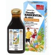Floradix Kindervital 250 ml uzupełnia codzienną dietę dziecka w niezbędne witaminy oraz wapń