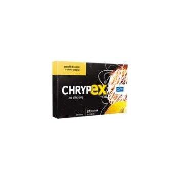Chrypex pastylki o smaku cytryny na chrypkę i pieczenie gardła