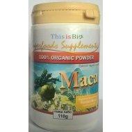 Maca 100% Organic Powder organiczny sproszkowany korzeń Maca