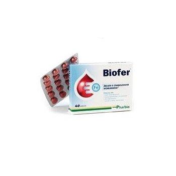 Biofer żelazo bioorganiczne