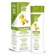 Cutis Help MIMI Emulsja do mycia ciała i włosów olej konopny dla noworodków, niemowląt i starszych dzieci