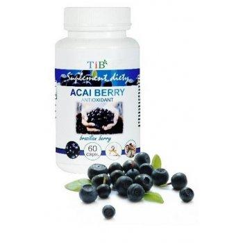 Acai Berry bogate źródło antyoksydantów i składników odżywczych