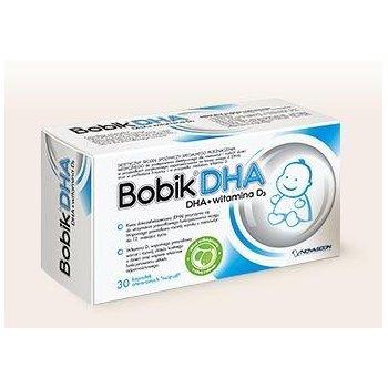 Bobik DHA witamina D3 + DHA wspomaga odporność i prawidłowy rozwój dziecka