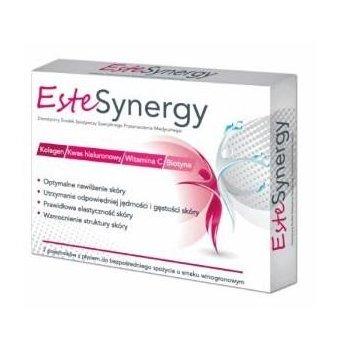 EsteSynergy Shot kolagen biotyna kwas hialuronowy