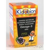 Kidabion Czarna Porzeczka kapsułki poprawiające pamięć i koncentrację