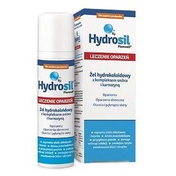 Hydrosil Leczenie oparzeń żel hydrokoloidowy na oparzenia, oparzenia słoneczne, skaleczenia