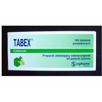 Tabex cytyzyna rzucanie palenia