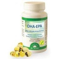 DHA-EPA wegańskie nienasycone kwasy tłuszczowe Omega-3 z alg Dr. Jacob's