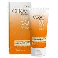 CERA+ Solutions Krem SPF 50 z wysoką ochroną przeciwsłoneczną skóra sucha i wrażliwa