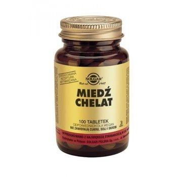 Miedź chelat aminokwasowy SOLGAR