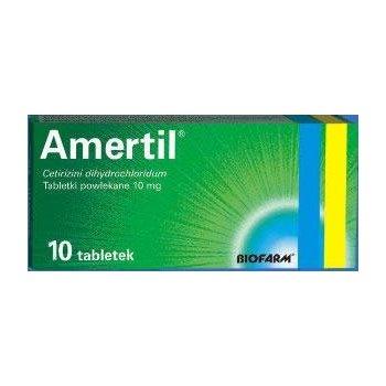 Amertil tabletki przeciwalergiczne