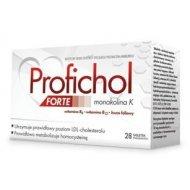 Profichol FORTE pomaga utrzymać prawidłowy poziom cholesterolu