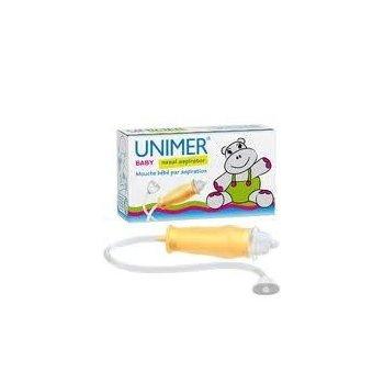 UNIMER Baby aspirator do nosa zapewnia swobodne oddychanie