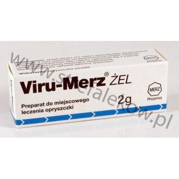 Viru-Merz bezbarwny żel na opryszczkę