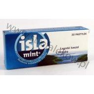 Isla-Mint pastylki do ssania na chrypke i ból gardła