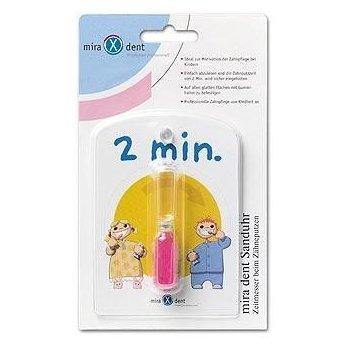 Klepsydra odmierza czas mycia zębów Miradent