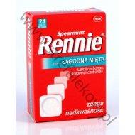 Rennie Łagodna Mięta 24 tabletki