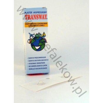 Transway plaster zapobiegający chorobie lokomocyjnej