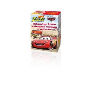 Plusssz Zizzz WIŚNIA Cars (auta) witaminy musujące w ustach
