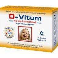D-Vitum witamina D dla niemowląt w kapsułkach twist off