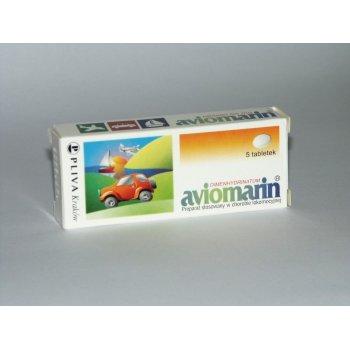 Aviomarin tabletki na chorobę lokomocyjną