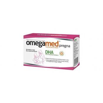 Omegamed PREGNA roślinne DHA 30 kapsułek dla kobiet w ciąży i karmiących
