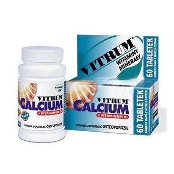 Vitrum Calcium 1250 + Vitamin D3 mocne kości, zęby i paznokcie
