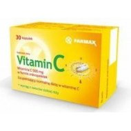 Vitamin C 500 mg witaminy C w mikropeletkach z dodatkiem wyciągu z owoców dzikiej róży