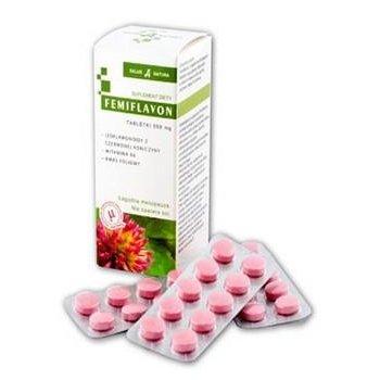 Femiflavon na menopauzę czerwona koniczyna