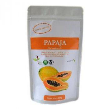 Papaja 100 g sproszkowanego owocu papai