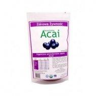 Acai w proszku 150 g organiczne sproszkowane liofilizowane jagody açaí