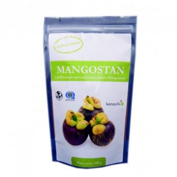 Mangostan owoc 200 g organiczny sproszkowany owoc mangostanu