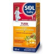SOLbaby TUSSI syrop od 1 roku życia na kaszel mokry i suchy z naturalnego miodu