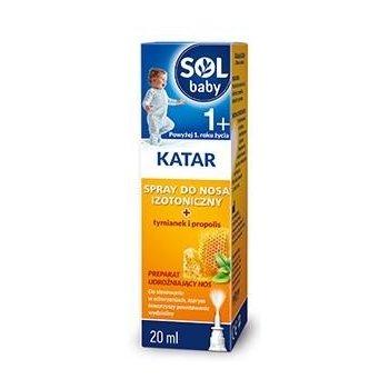 SOLbaby KATAR spray udrożniający nos od 1 roku życia