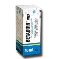 Betadrin przeciwalergiczne krople na katar