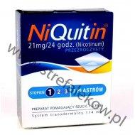 Niquitin Plastry Pierwszy Stopień Przezroczyste
