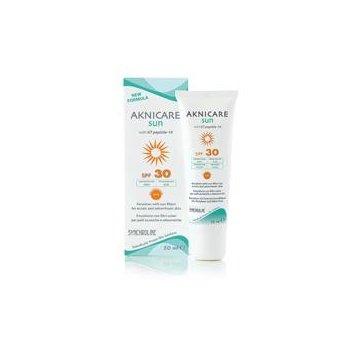 Synchroline Aknicare Sun SPF30 krem przeciwtrądzikowy
