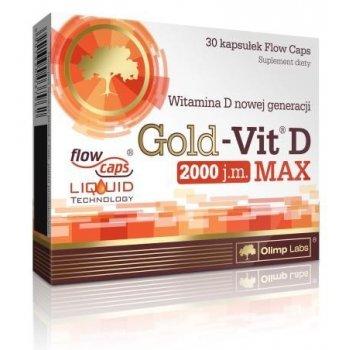 Gold-Vit D MAX 2000 j.m. wysoka biodostępność witaminy D Olimp Labs