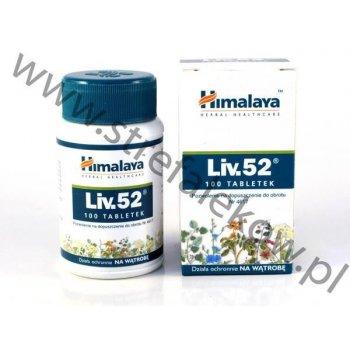 Liv.52 pobudza regenerację wątroby 100 tabletek